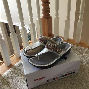 Women's beaded Alegria sandals